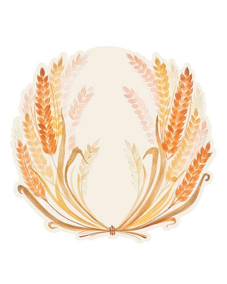Hester & Cook Set of 12 Golden Harvest Paper Placemat