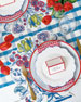 Image 1 of 2: Hester & Cook China Blue Table Setting Decor Collection