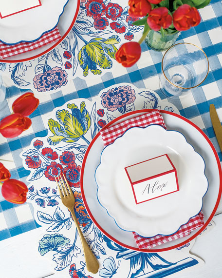 Hester & Cook China Blue Table Setting Decor Collection