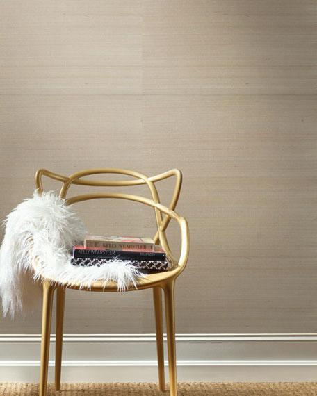 York Wallcoverings Solid Metallic Pearl Texture Wallpaper