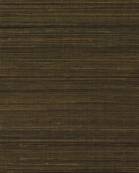 York Wallcoverings Grass Sisal Wallpaper Sample