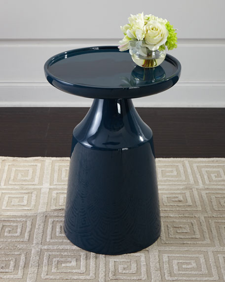 Image 1 of 3: Arteriors Turnin Side Table
