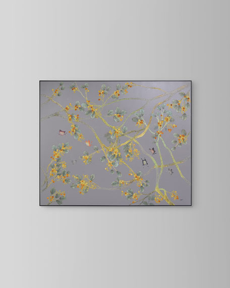 """John-Richard Collection """"Creeping Branches"""" Painting by Teng Fei"""