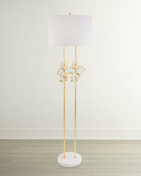 John-Richard Collection Floating Disc Floor Lamp