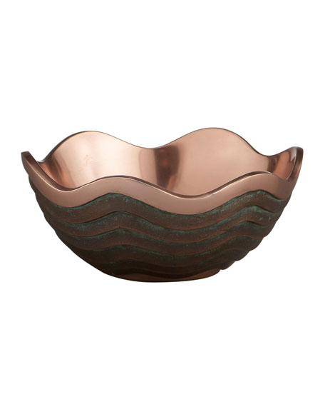 """Nambe 7"""" Copper Canyon Bowl"""