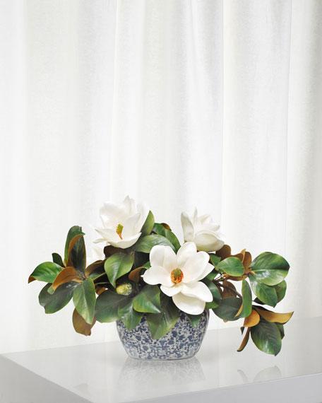 Winward Magnolia Centerpiece in Planter
