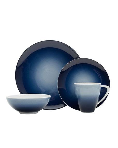 Mikasa 16-Piece Naya Blue Dinnerware Set