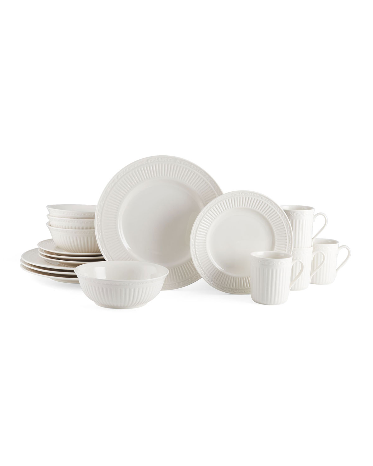Mikasa 16-Piece Italian Countryside Dinnerware Set