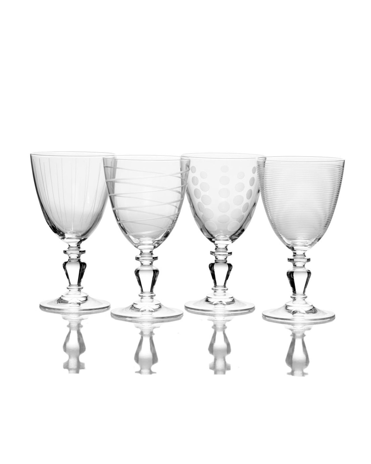 Mikasa Cheers Vintage Wine Glasses, Set of 4