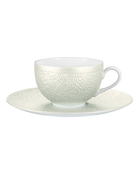 Raynaud Mineral Irise Tea Saucer