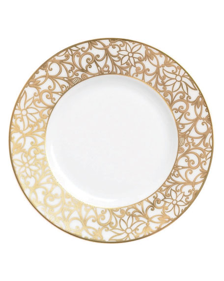 Raynaud Salamanque Gold Bread & Butter Plate