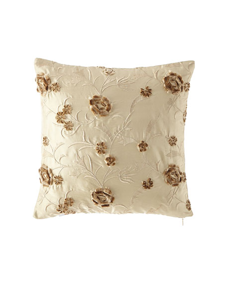 Austin Horn Collection Everleigh Silk Pillow