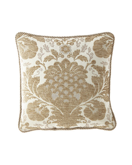 "Austin Horn Collection Everleigh Pillow, 20""Sq."
