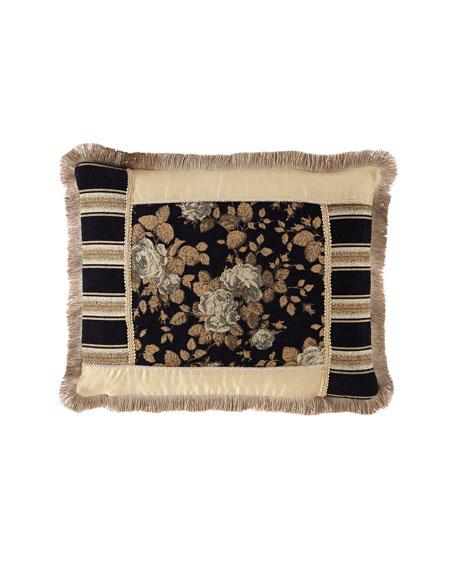 Austin Horn Collection Juniper Pieced Boudoir Pillow