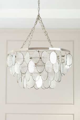 Robles Heritage Textured Glass Chandelier