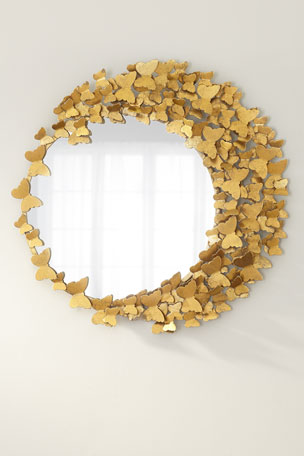 Jamie Young Flutter Away Butterfly Mirror