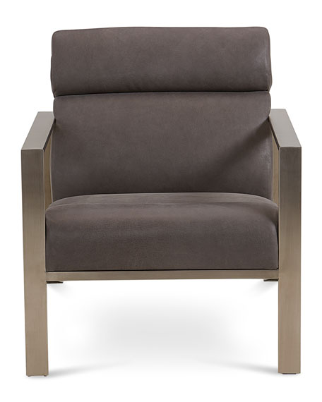 Bernhardt Marco Leather Accent Chair