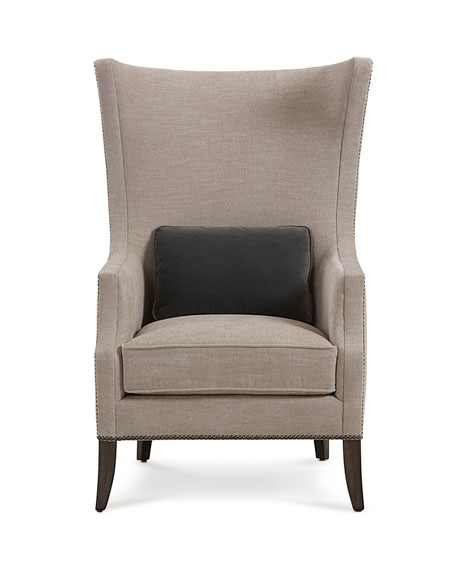 Bernhardt Mona Traditional Wing Chair