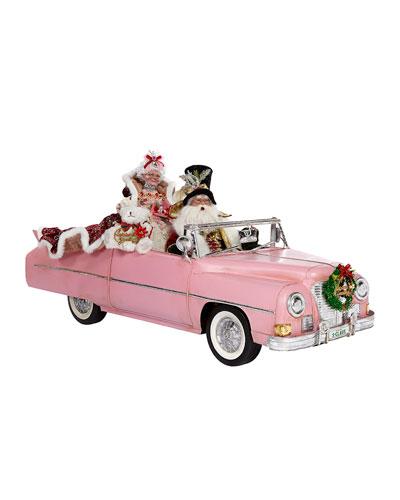 Convertible Car with Santa  27