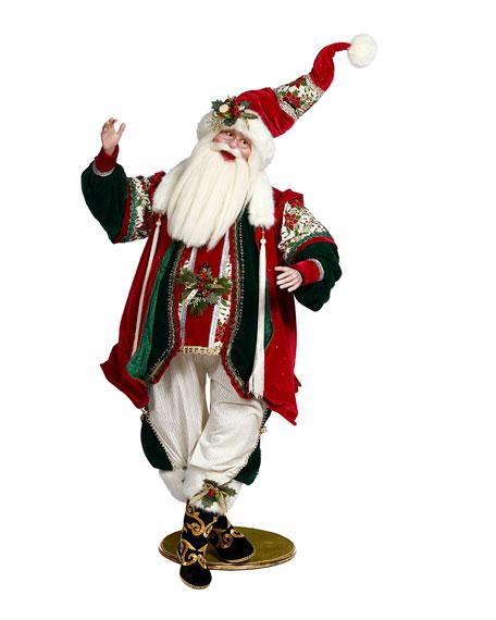"Mark Roberts Toy Maker Santa, 65"""