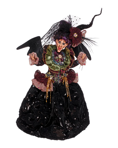 "Mark Roberts Elegant Witch, 14"""
