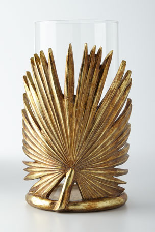 Jamie Young Palm Leaf Candleholder