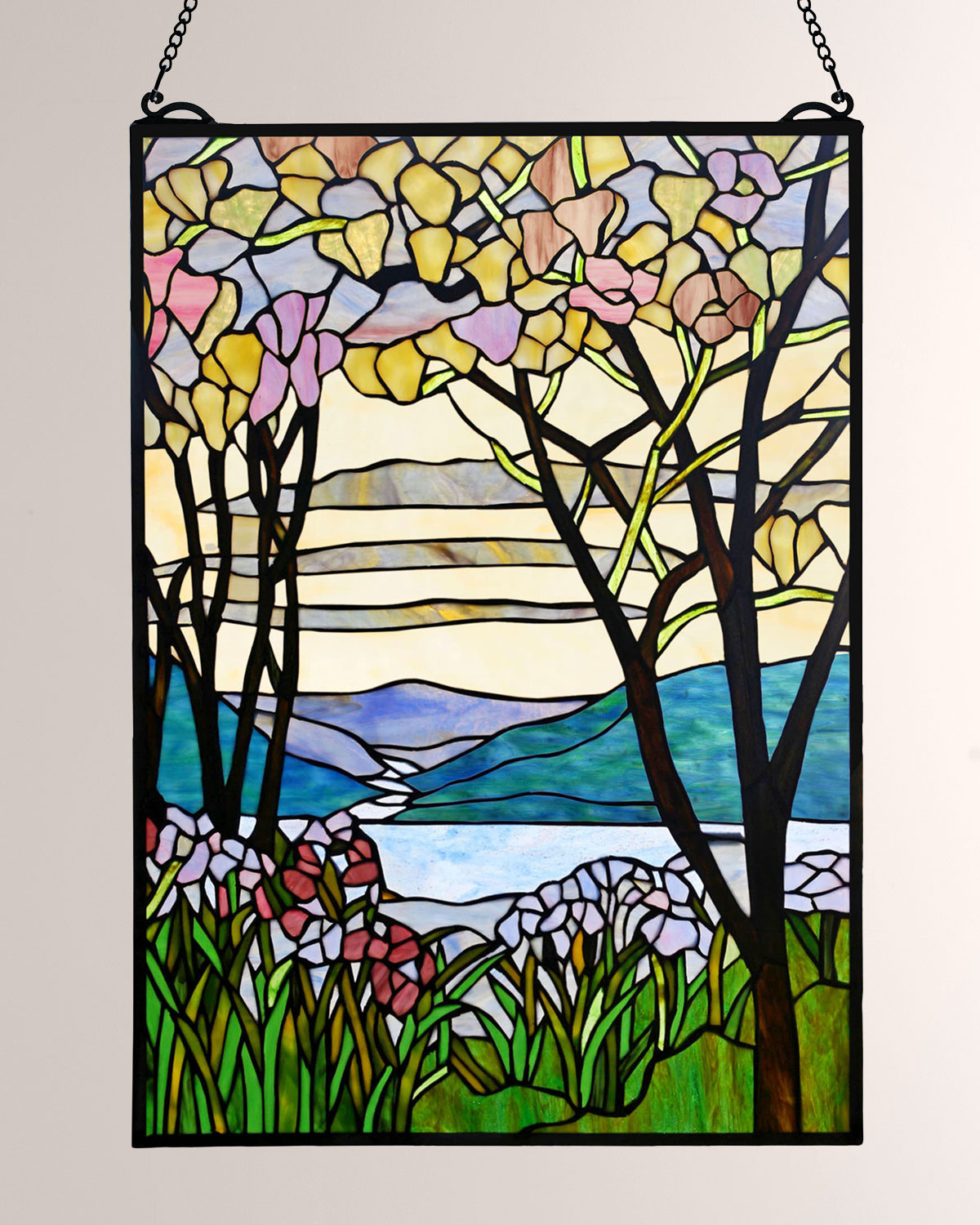 Dale Tiffany Tiffany Magnolia Window Panel