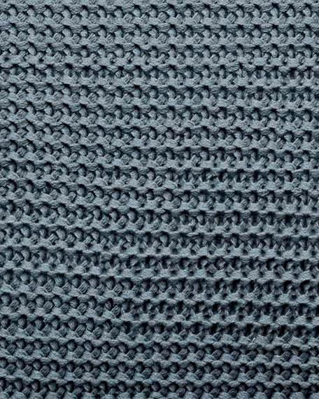 "Vera Wang Marble Shibori Knit Decorative Pillow, 15"" x 20"""