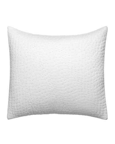 Marble Shibori Decorative Pillow  12 x 16