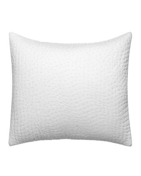 "Vera Wang Marble Shibori Decorative Pillow, 12"" x 16"""