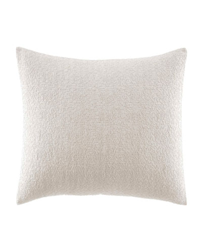 Verge White Decorative Pillow  12 x 16