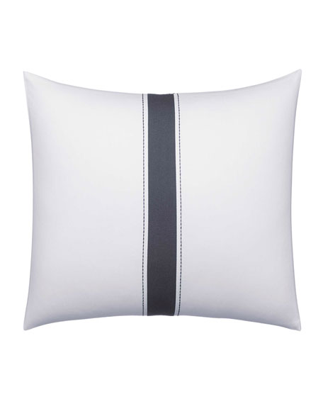 "Vera Wang Zigzag Decorative Pillow, 12"" x 16"""