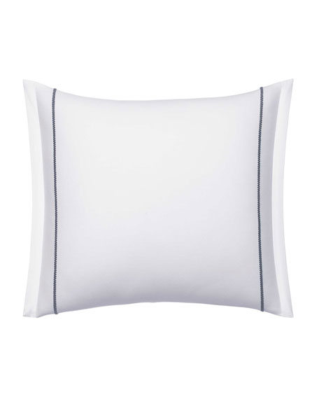 "Vera Wang Zigzag Decorative Pillow, 15"" x 20"""