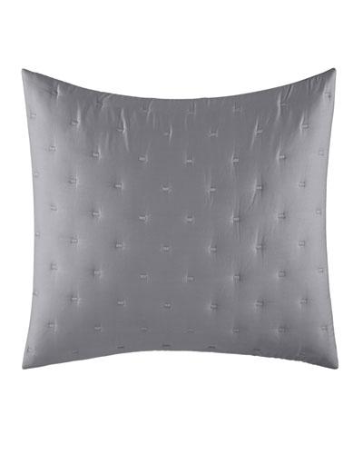 Luster Gray Standard Sham