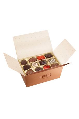 Neuhaus Chocolate 34-Piece Praline Assortment Box