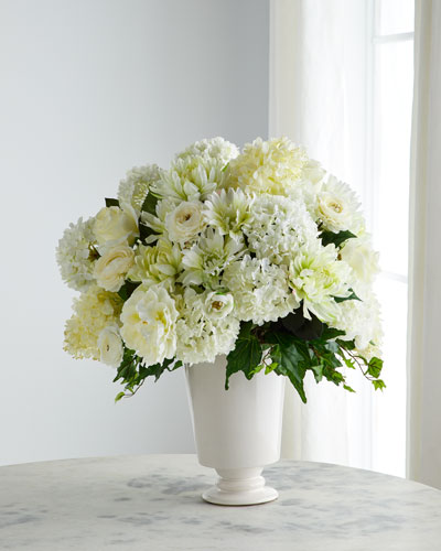Venetian Lace Floral Arrangement
