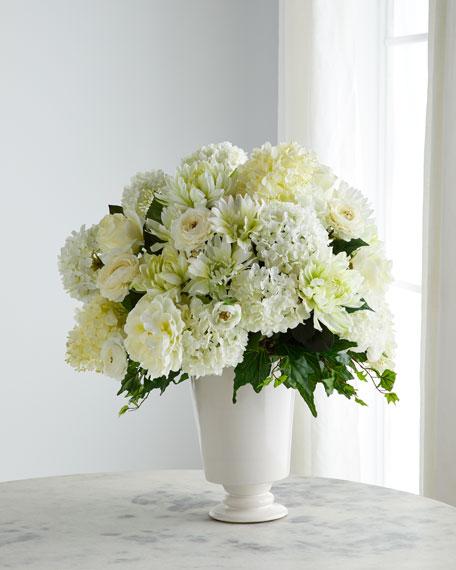 John-Richard Collection Venetian Lace Floral Arrangement