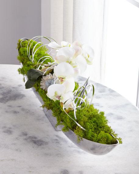 John-Richard Collection Orchid Crystals Arrangement