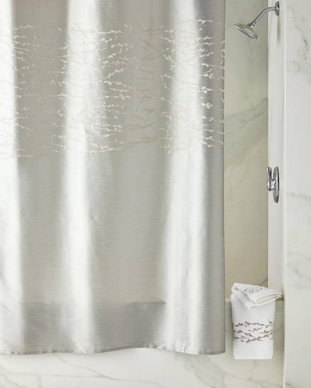 Michael Aram Willow Shower Curtain Neiman Marcus