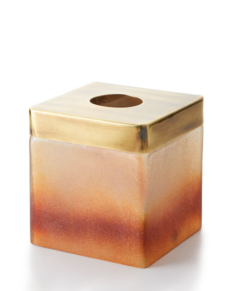 Michael Aram Torched Tissue Box Cover