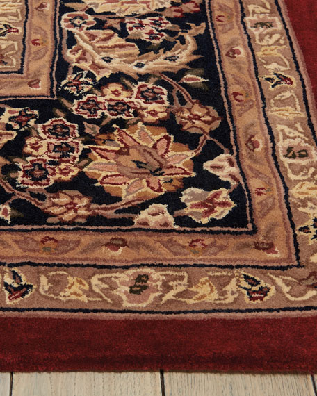 Image 3 of 4: NourCouture Apenzell Hand-Tufted Rug, 4' x 6'