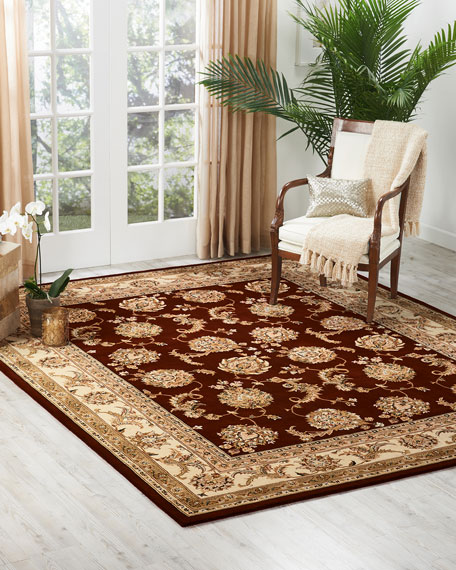 Image 1 of 4: NourCouture Red River Hand-Tufted Rug, 4' x 6'