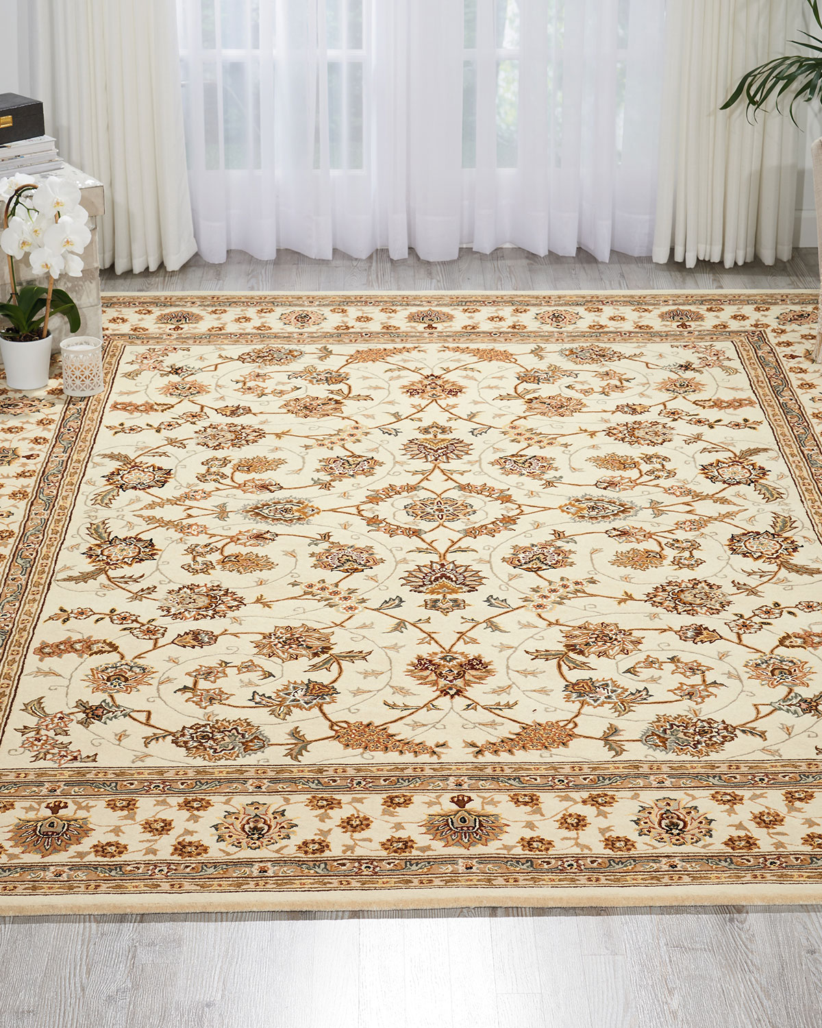 "NourCouture Buttercup Hand-Tufted Runner, 2'3"" x 8'"