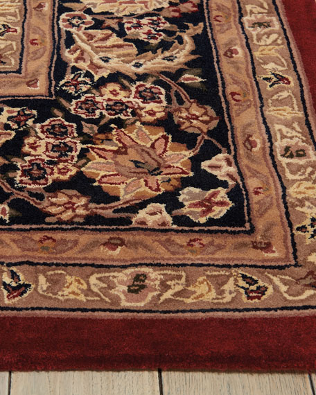 Image 3 of 4: NourCouture Apenzell Hand-Tufted Rug, 9' x 12'