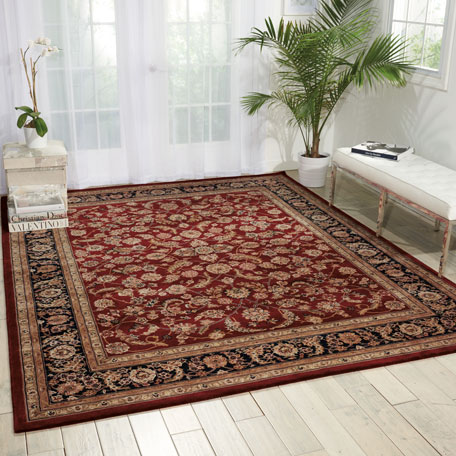 Image 1 of 4: NourCouture Apenzell Hand-Tufted Rug, 9' x 12'