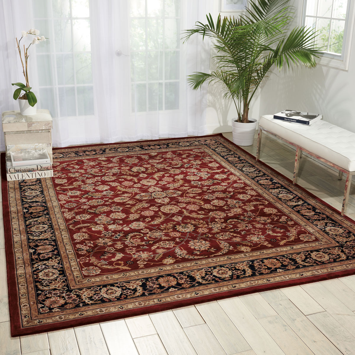 NourCouture Apenzell Hand-Tufted Rug, 9' x 12'