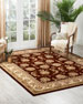 Image 1 of 4: NourCouture Red River Hand-Tufted Rug, 5' x 8'