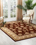 Image 1 of 4: NourCouture Red River Hand-Tufted Rug, 9' x 12'