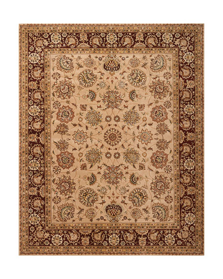 Image 2 of 4: NourCouture Colonial Hand-Tufted Rug, 4' x 6'