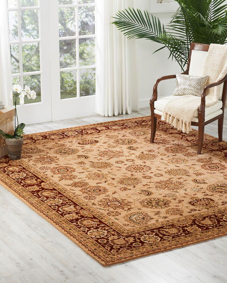 Image 1 of 4: NourCouture Colonial Hand-Tufted Rug, 4' x 6'